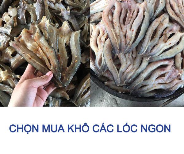 cách chọn khô cá lóc ngon